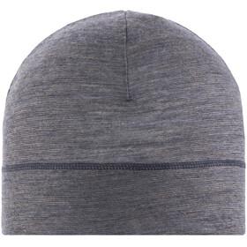 Buff Lightweight Merino Wool Hat Charcoal Grey Multi Stripes